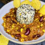 Chili Sin Carne mit Basmati-Linsen-Quinoa