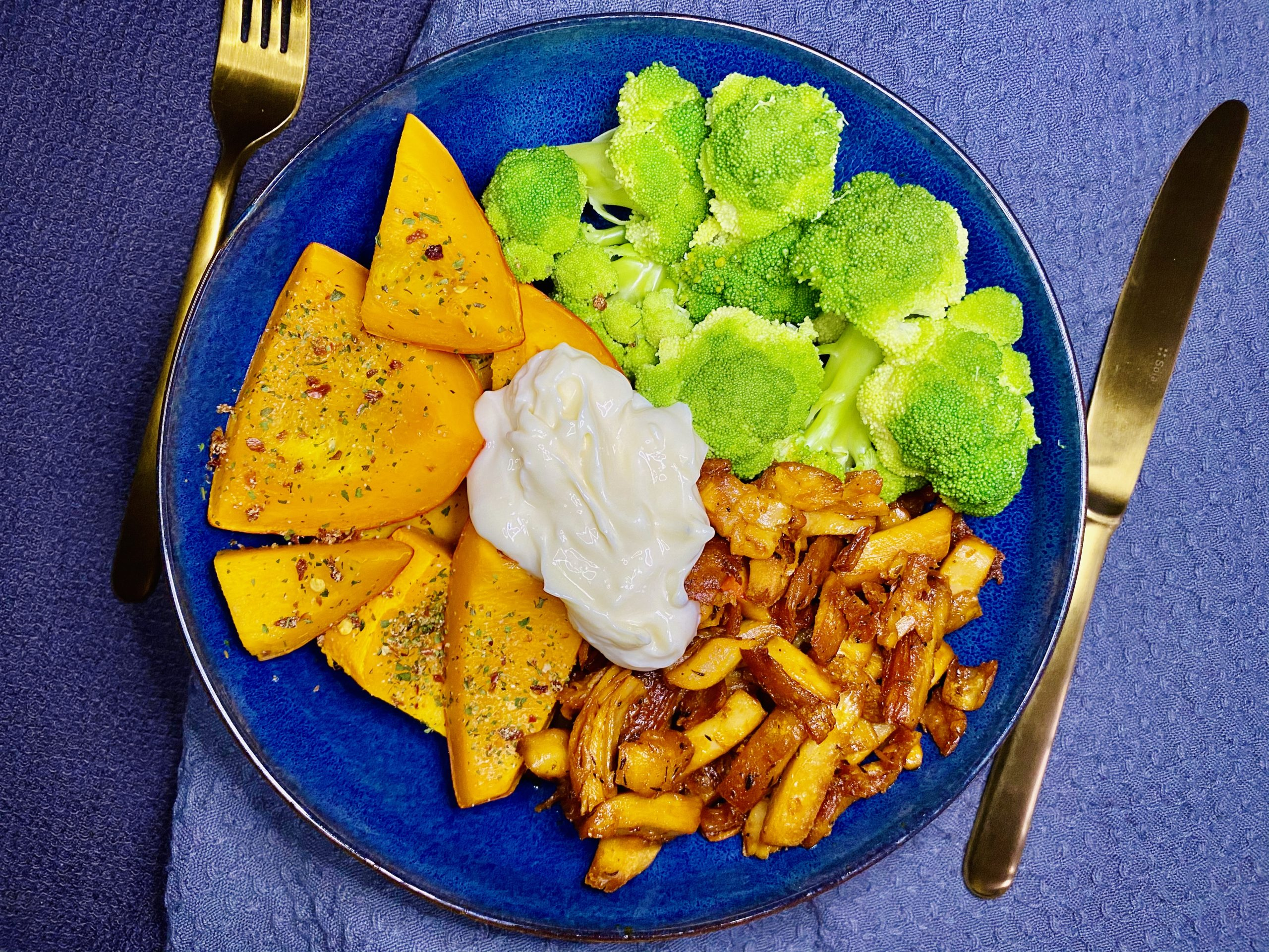 Veganes Gyros mit Gemüse