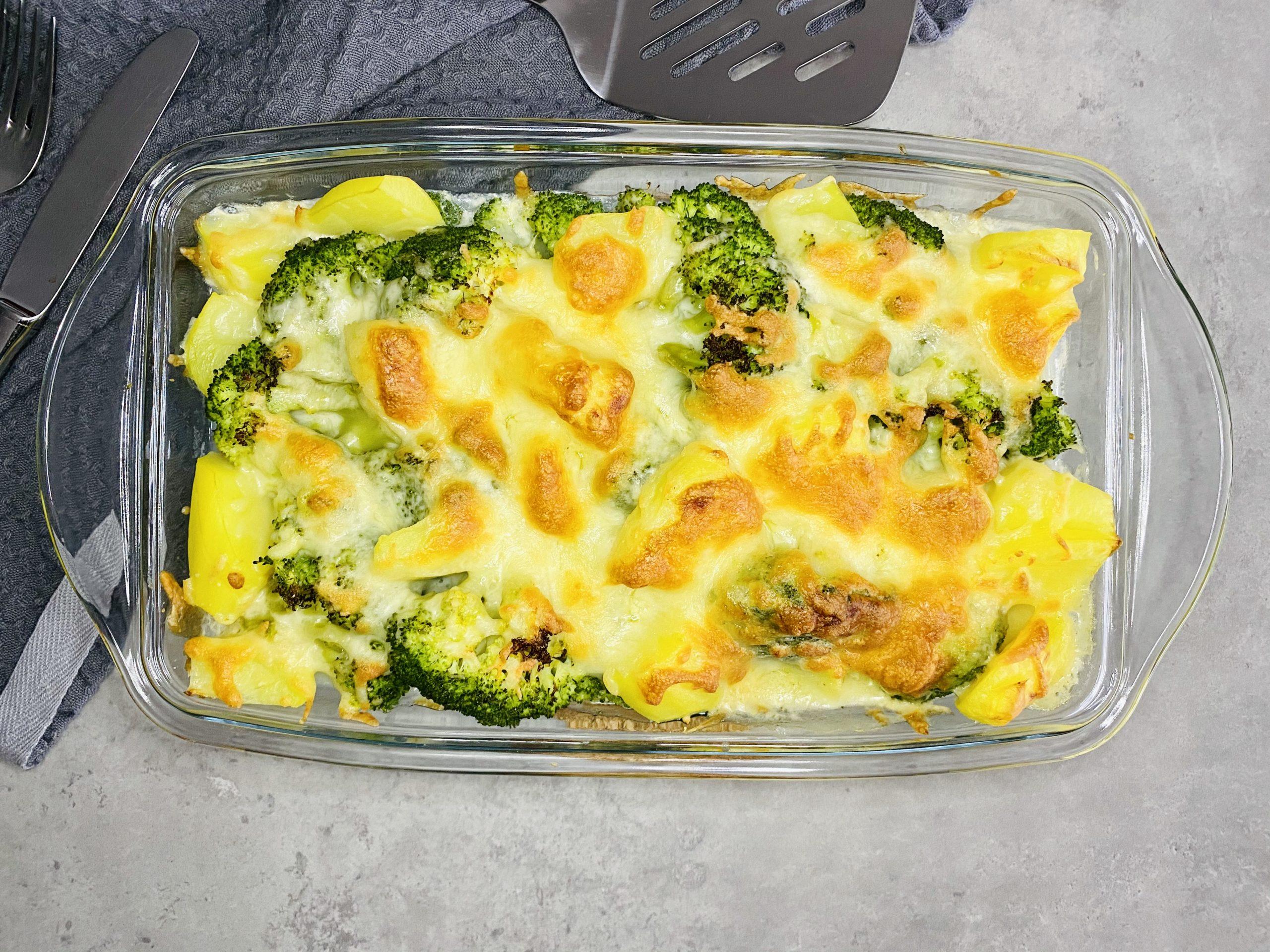 Brokkoli-Kartoffel-Auflauf