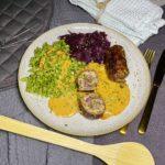Rouladen mit Spinat-Spätzle