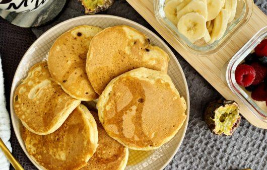 Schnelle Dinkel Pancakes
