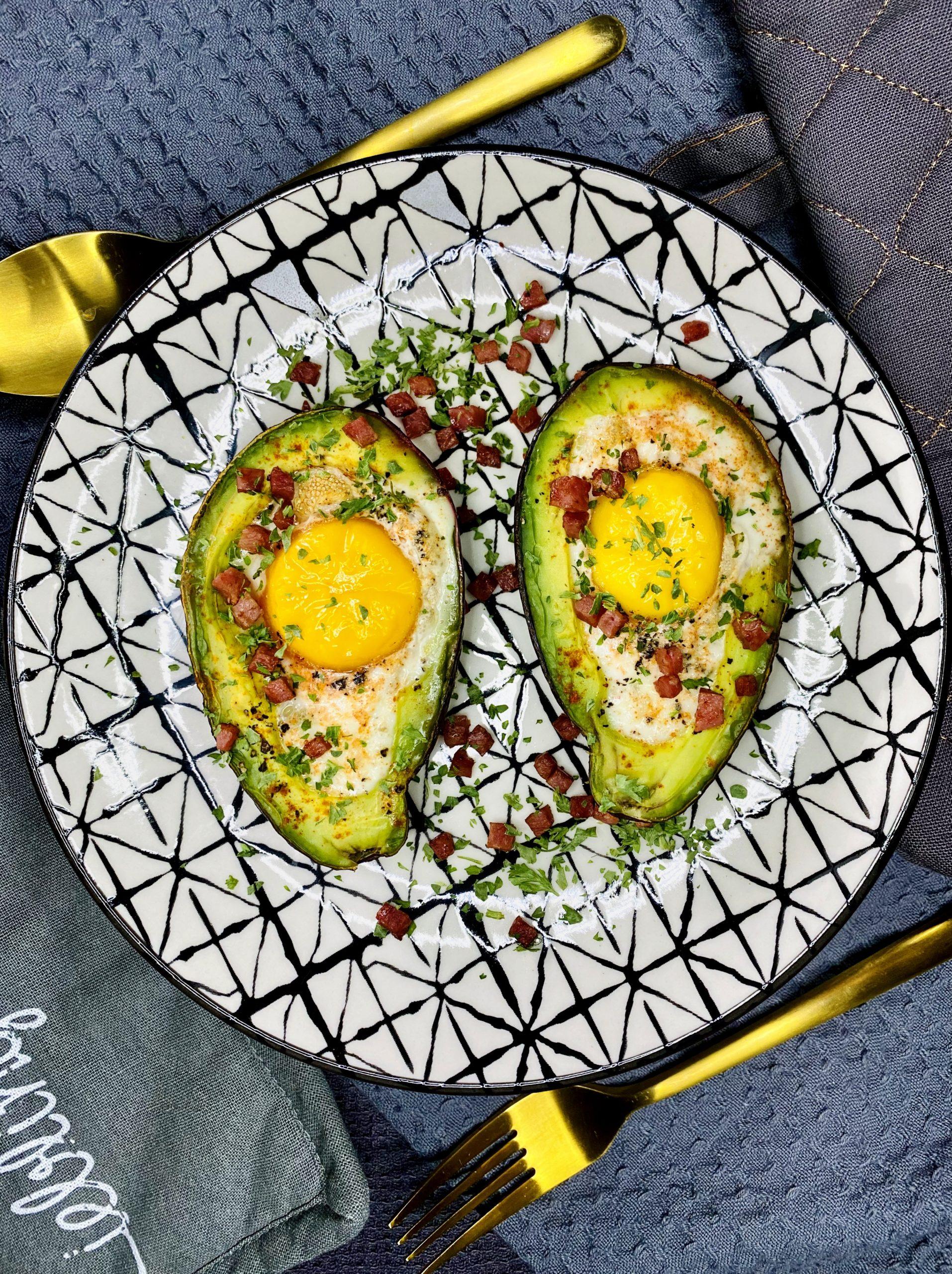 Avocado-Eier